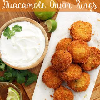 Guacamole Onion Rings
