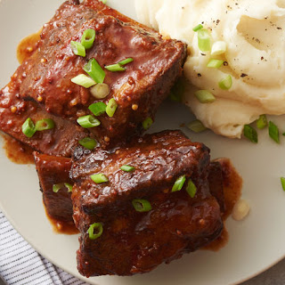 Slow-Cooker Barbecue Beef Short Ribs Recipe