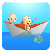 Twins Go Fishing