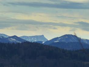 Photo: Buchenschopf (~1100m), Gippel (1669m), Jochart (1266m)