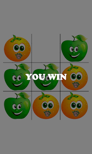 tic-tac-toe: Apple Vs Orange - náhled