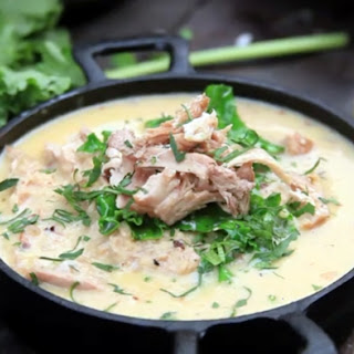 Creamy Lemon Chicken Soup