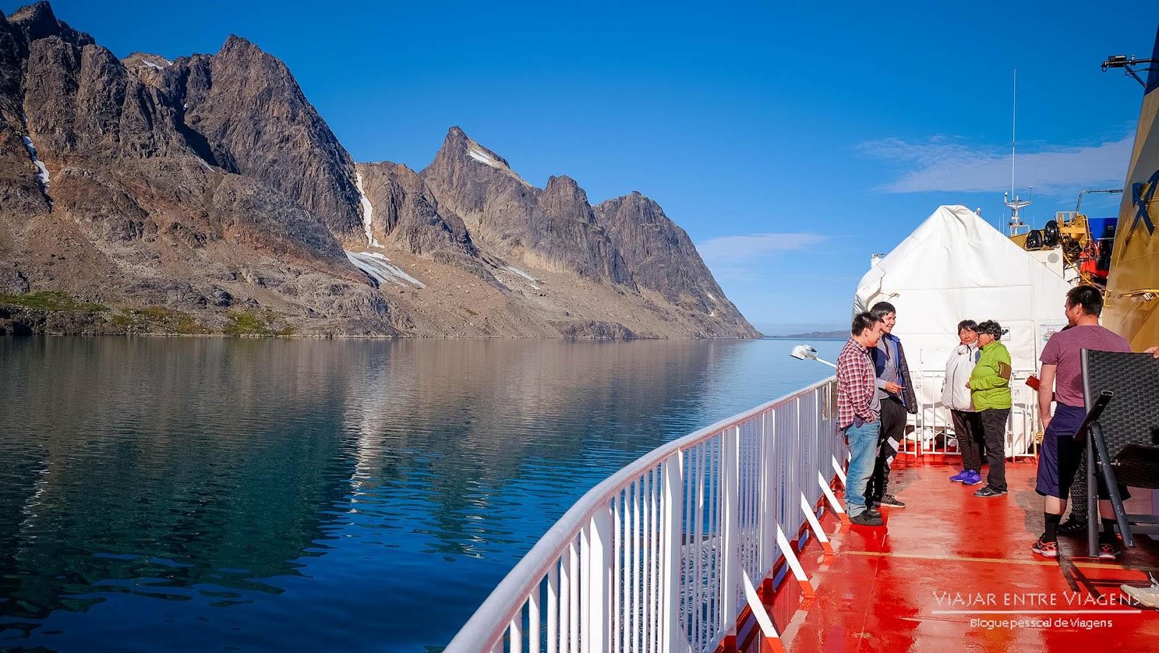 Dia 9 a 12 - Descobrindo a Gronelândia a bordo do Sarfaq Ittuk | Volta ao Mundo
