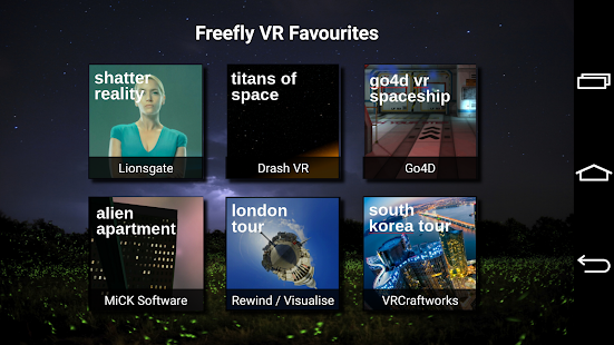Freefly VR Glide Control- screenshot thumbnail