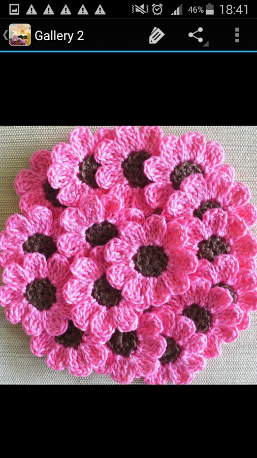 Crochet Flower Pattern - Android Apps on Google Play