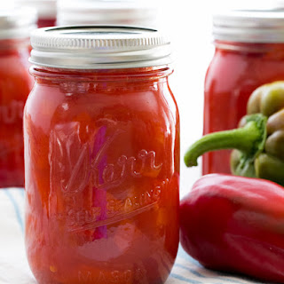 Marinated Bell Peppers.
