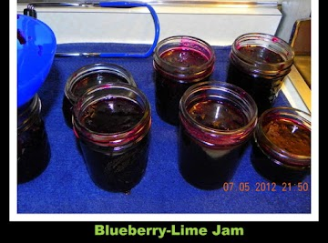 Blueberry Lime Jam Recipe