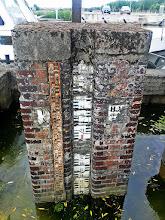 Photo: Čia gal vandens lygį anksčiau matuodavo?