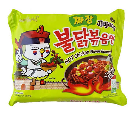 Hot Chicken Ramen Jjajang 140g Samyang