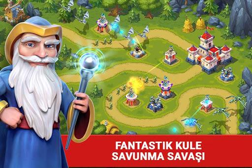 Toy Defense Fantasy — Tower Defense Game  άμαξα προς μίσθωση screenshots 1