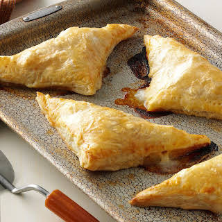 Pear, Ham & Cheese Pastry Pockets.
