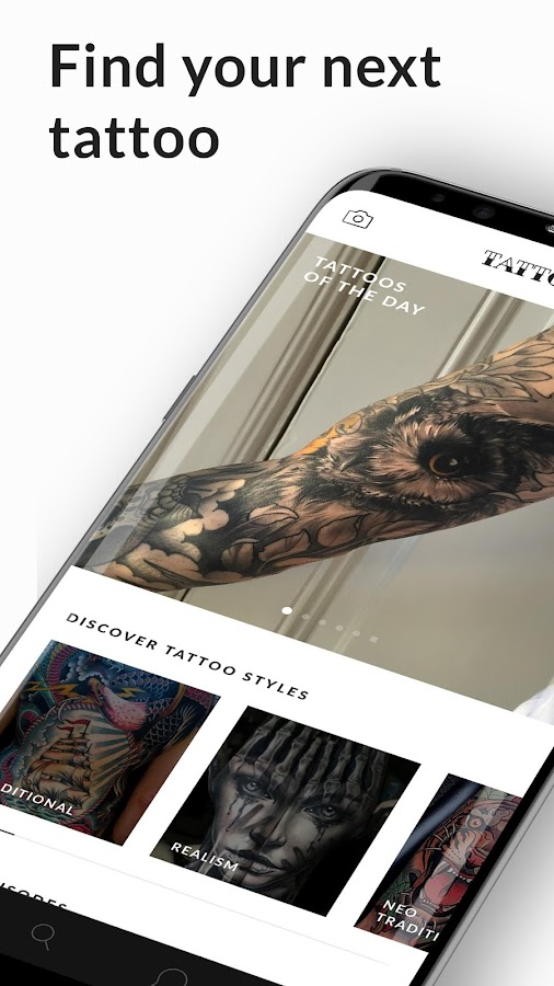 Tattoodo - Find your next tattoo - Android Apps on Google Play