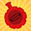 Fart sounds noises prank (Joke). Whoopee cushion icon