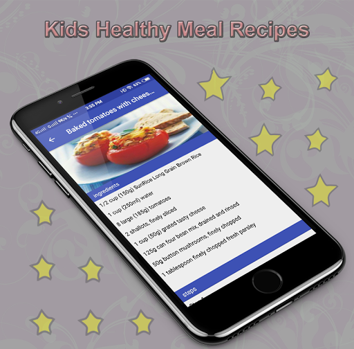 Kids Healthy Meal Recipes 1.0 screenshots 3
