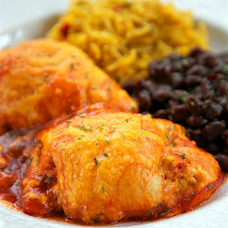 Chicken Enchilada Roll-Ups.