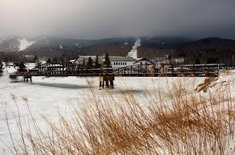 Photo: Cloudy Mountains- Vermont
