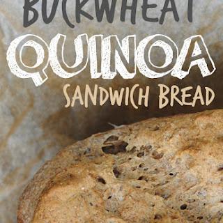 Buckwheat Quinoa Sandwich Bread (Gluten-Free, Egg-Free & Dairy-Free)