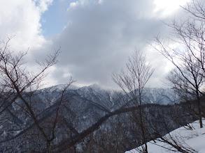 山頂方面の展望
