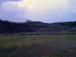 Photo: Severní část lomu.