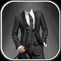 Man Fashion Suit Photo Montage icon