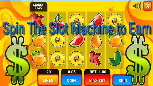 Earn with Slot Machine Online