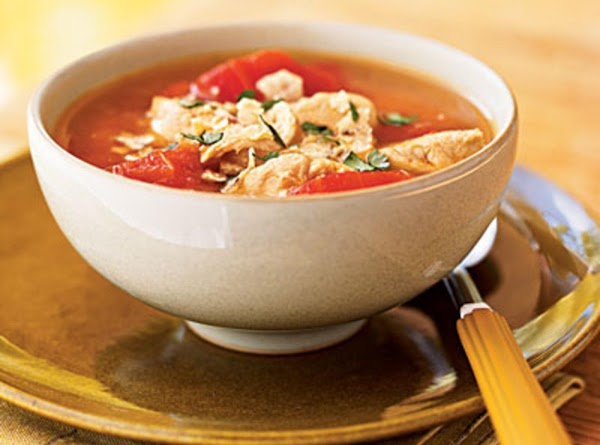 Chipotle Chicken Tortilla Soup Recipe
