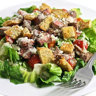 Skinny Caesar Steak Salad.