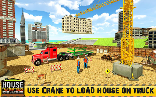 Mobile Home Transporter Truck: House Mover Games 1.0.4 screenshots 1