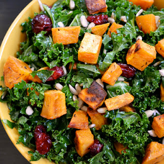 Sweet Potato and Kale Salad.