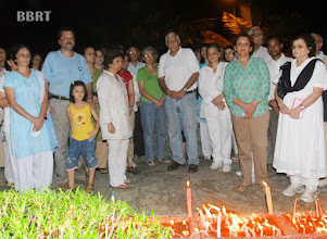 Photo: Peace candle light fn after 26-11-08 bomb