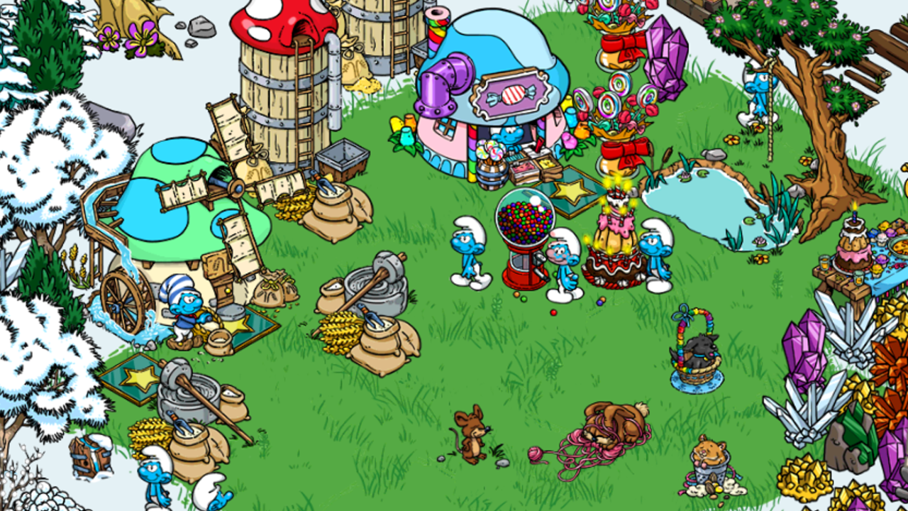Smurfs' Village- screenshot