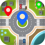 GPS Route Finder - Navigation & Direction