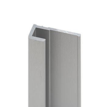 DecoDesign - Zubehör Profil - Endprofil - Alu-Natur (01), Länge 2100 mm