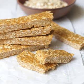 Peanut Butter & Honey Chewy Granola Bars.