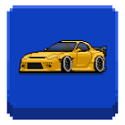 Pixel Car Racer icon