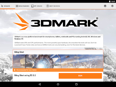 3DMark - The Gamer's Benchmark v1.5.3285