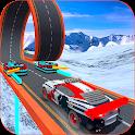 Turbo Car Rush: Mountain stunt Driver icon