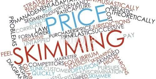 Price skimming brainstorming