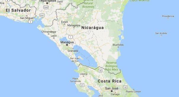 Nicarágua Map