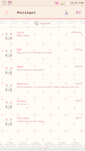 My Bunny GO SMS