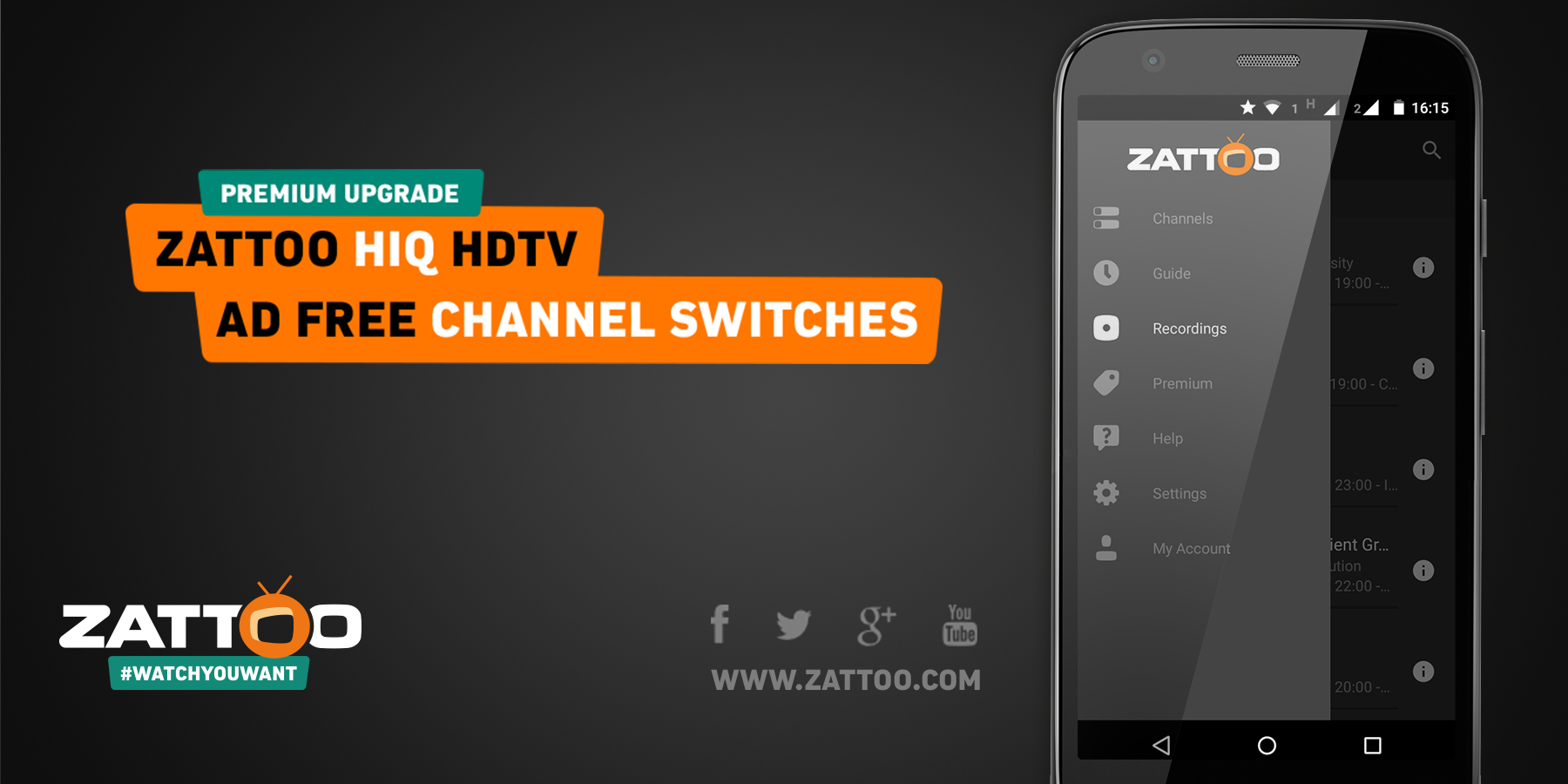 Zattoo Live TV- screenshot