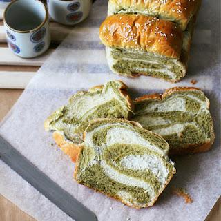 Matcha & Milk Tangzhong Bread.