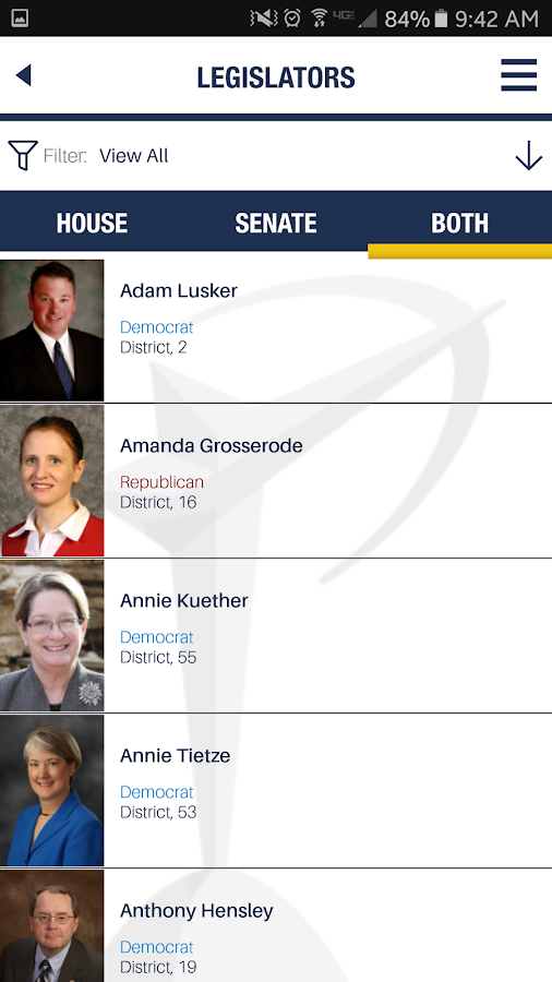 KS Chamber Legislative Guide- screenshot
