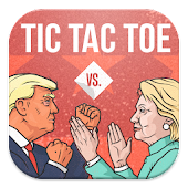 Trump Vs Hillary Tic Tac toe