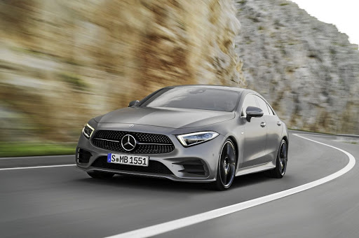 The new CLS gets new signature lighting and a narrower front end