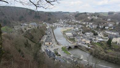 Photo: Bouillon vanuit  het uitzichtspunt  van La Ramonette