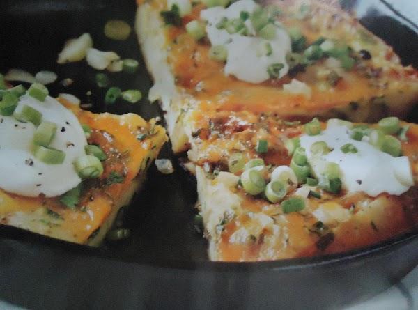 Norma's Hearty & Creamy Cheese Potato Frittata Recipe