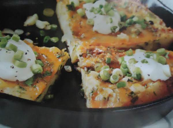 Norma's Hearty & Creamy Cheese Potato Frittata Recipe