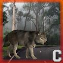 Старый лес Волк Simulator icon