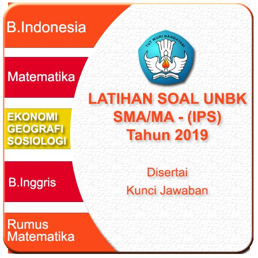 Latihan UNBK SMA IPS 2019 Soal & Pembahasan Android APK Download Free By Hibrizi Zakwan